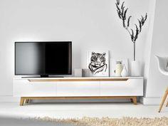 Mikkel stand rove kure scandinavian design gadgets in 20 Tv Stand Decor, Diy Tv Stand, Scandinavian Living, Scandinavian Design, Entertainment Center, Entertainment Products, Design Hall, Modern Tv Units, Rack Tv