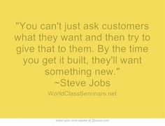 You Get It, How To Get, Job Quotes, Steve Jobs, Great Quotes, Citation Travail, Work Quotes