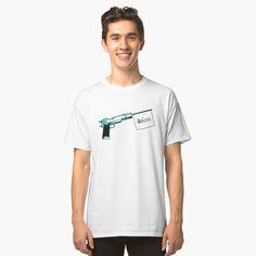'Leon: The Professional' Classic T-Shirt by vectrus Lightning Bolt, Cute Designs, Shirt Designs, Simple Designs, Teen Fun, Vintage T-shirts, Fashion Vintage, White T, Design Quotes