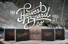 The Harvest Beard Full Set, by #HarvestBeard. #MensGrooming #MensShaving