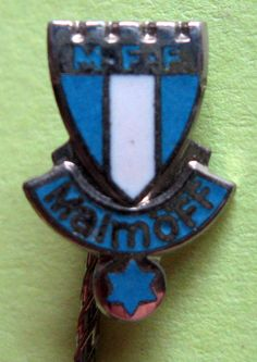 SWEDEN, BADGES OF FOOTBALL CLUBS - MALMÖ FF PIN 2 #Pin
