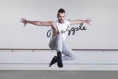 Dancer at Pineapple Dance Studios, London.