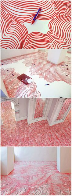 Incredible Permanent Marker Floor or a wall?