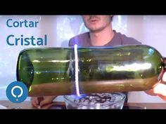 Cortar botella de vidrio - Método fácil y rápido (Cut glass bottle - easy and quick way) - YouTube