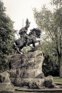 Herford, Wittekind, Fotografie, Statue, monument, artwork, design, grafik   Peter Möller