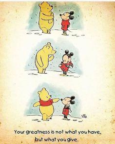 Winnie pooh and mickey Disney Pixar, Disney Amor, Disney Memes, Disney Quotes, Cute Disney, Disney Characters, Funny Disney, Disneyland Quotes, Disney Shirts