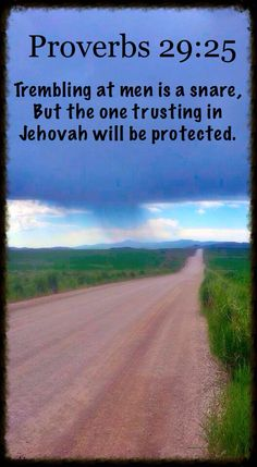 Trust in Jehovah!