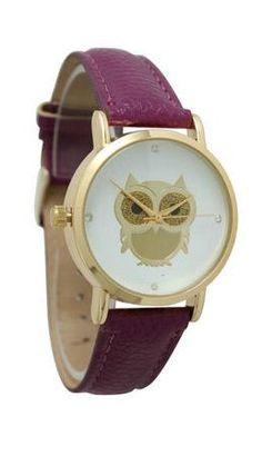 Purple Owl Watch ♥ L.O.V.E.