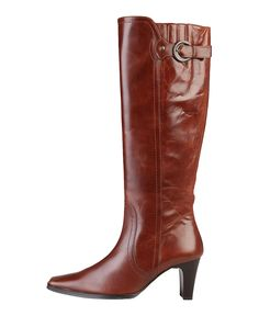 Womens shoes - women's boots 100% genuin leather, side zip fastening - insole: synthetic material - sole: rubber - heel: - Boot women Brown
