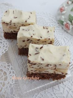 Aleda konyhája: Kávés szelet Hungarian Desserts, Hungarian Cake, Hungarian Recipes, Sweet Cookies, Cake Cookies, Sweet Treats, Tea Cakes, Cupcake Cakes, Salty Snacks