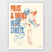 Edition featuring Police and Thieves - Limited Edition Print by Society6