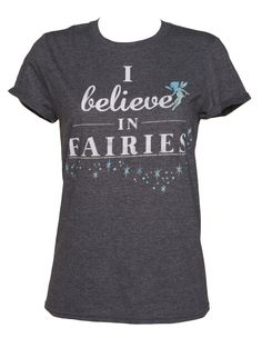 Ladies I Believe in #Fairies #Tinkerbell #Oversized Rolled Sleeve T-Shirt from TruffleShuffle xoxo