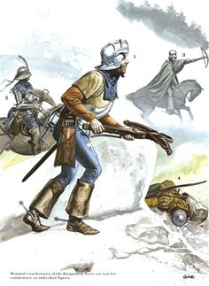 The Swiss at War 1300–1500 - Pikemen of the Burgundian Wars Opsrey Publishing