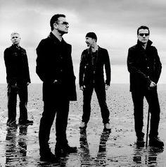 U2 - rock band - Bono, The Edge, Adam Clayton, and Larry Mullen, Jr.