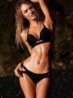 Candice Swanepoel for Victoria's Secret Swim 2015