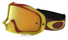 Oakley Crowbar Shockwave Red/Yellow 24K Goggles