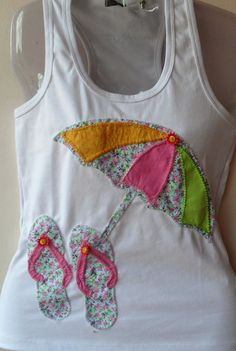 Applique Embroidery Designs, Shirt Embroidery, Machine Embroidery Applique, Silk Ribbon Embroidery, Decorated Gift Bags, T Shirt Painting, Girls Quilts, Simple Bags, Sewing For Kids