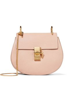 Blush textured-leather (Lamb) Pin and clasp-fastening front flap Designer color: Cement Pink Comes with dust bag Weighs approximately 1.8lbs/ 0.8kg Made in Italy