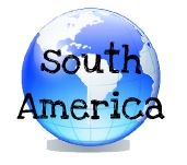 Free geography printables and lesson plans for South America