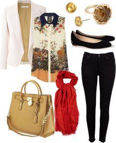 """""""Office Fashion"""" by delfinaklein on Polyvore"""