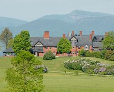 Shelburne Farms - Vermont  At this working farm on Lake Champlain, adults can take cheese-making classes while kids milk a cow, collect eggs, or walk a calf. Tennis, croquet, and the inn itself -- a 19th-century mansion once inhabited by William Seward Webb and Lila Vanderbilt Webb -- provide a buttoned-up counterpoint to the farm life