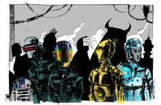 Daft Punk meets Star Wars
