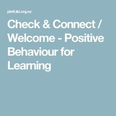Deter Bullying / Welcome - Positive Behaviour for Learning Positive Behavior, Secondary School, Early Childhood, Welcome, Bullying, Connection, Encouragement, How To Remove, Positivity