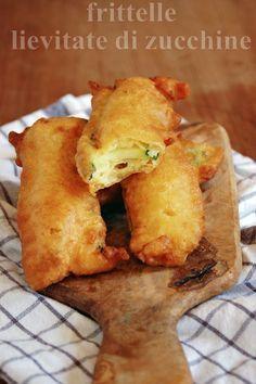 frittelle lievitate di zucchine