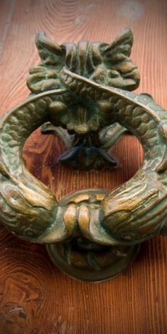 Door Knocker (Fish Type), Malta by Naolo The Obscure.