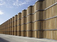 Parking (Bamboo Wall) by HPP at Leipzig