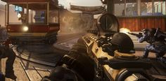 Call of Duty: Ghosts Bayview DLC Free-For-All Multiplayer Map.