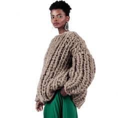 Ioana Ciolacu featuring ready to wear collections for women. Thick Sweaters, Red Pattern, Ready To Wear, Fall Winter, Crew Neck, Men Sweater, Turtle Neck, Pullover, Knitting