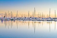 Yachts at Saint-Malo Harbor, Brittany, France Saint Helena Island, St Helena, Yacht Boat, Landscape Pictures, Landscape Photographers, Australia Travel, Brisbane, San Francisco Skyline, New York Skyline
