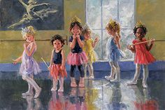 2383 Five Crowns by Corinne Hartley Oil ~ 24 x 36
