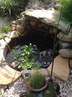 ideas for future patio area on unlevel side yard slope ... on Unlevel Backyard Ideas id=94892