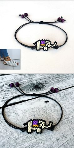 Elephant Anklet Bracelet, Cute Animal Gift, Elephant Jewelry, Minimalist Anklet, Beaded Adjustable F Elephant Anklet, Elephant Jewelry, Elephant Bracelet, Animal Jewelry, Beaded Anklets, Beaded Rings, Beaded Jewelry, Beaded Bracelets, Foot Bracelet