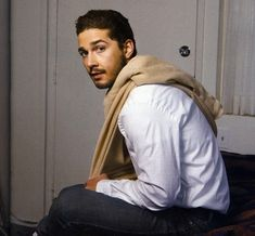 Shia LaBeouf :)  He's come a LONG way since Even Stevens.