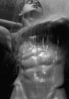trashyprinces:  It's harder to breath when showering. By Bruce Weber.