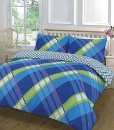 Hardy Printed Blue Duvet Quilt Cover Set — Linens Range