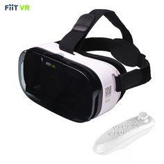 Fiit 2N Virtual Reality Headset + Remote controller - free shipping worldwide  #360 #vrheadset #vrgames #vrapps #virtual reality #sale #vrporn #immersive #fiitvr #fiit