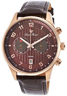 Lucien Piccard Navona Chronograph Brown Genuine Leather and DialLucien Piccard…
