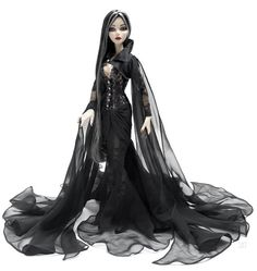 A rare Barbie doll that reflects a true #Gothic sensibility