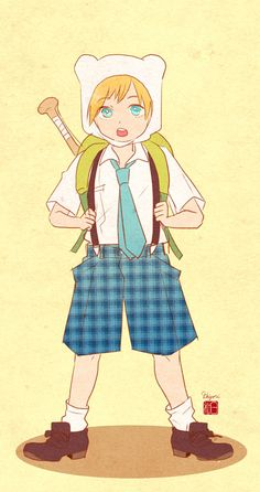 Finn school uniform