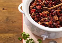 Spicy Slow Cooker Chili - Oxygen Women's Fitness - Oxygen Women's Fitness