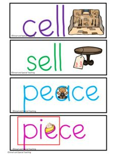 Homophones Multiple Meaning Orton Gillingham with Clip Art | TpT Dyslexia Activities, Wilson Reading, Friends Font, Visual Memory, Gillingham, Teaching Reading, Small Groups, Phonics, Meant To Be