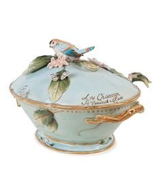Green & Blue Toulouse Tureen & Ladle | Daily deals for moms, babies and kids
