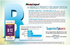 MicroLingual by Superior Source - THE WORLD'S PERFECT DELIVERY SYSTEM. ----- (As seen in the 2012 Pharmacy Platinum Pages Buyer's Guide: rxplatinumpages.com)