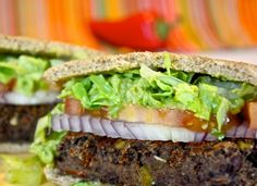 Helyn's Healthy Kitchen: The Ultimate Black Bean Burger