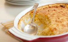 SNACK: Epicure's Cheese, Chives & Bacon Corn Spoon Bread cals/serving) Corn Spoon Bread, Epicure Recipes, Bacon, Portion, Good Food, Yummy Food, Lean Meals, Nutritious Snacks, Independent Consultant