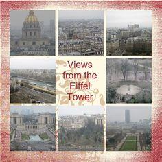 London-Paris Scrapbook pg 45 - Stampin' Up! - Chrissysblog.com